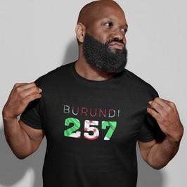 Burundi 257 Mens T-Shirt