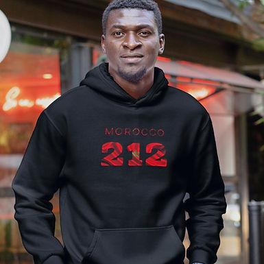 Morocco 212 Men's Pullover Hoodie