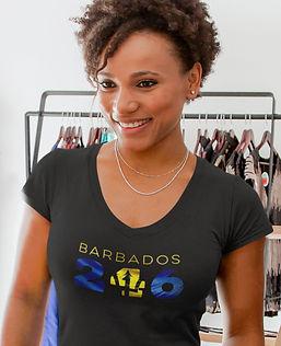 Barbados 246 Womens T-Shirt