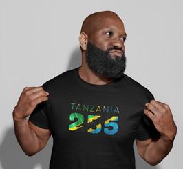 Tanzania 255 Mens T-Shirt