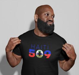 Haiti 509 Mens T-Shirt