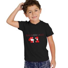 Switzerland 41 Childrens T-Shirt