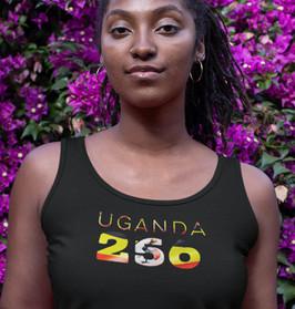 Uganda 256 Womens Vest