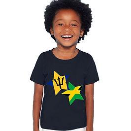 Barbados & Jamaica Childrens T-Shirt