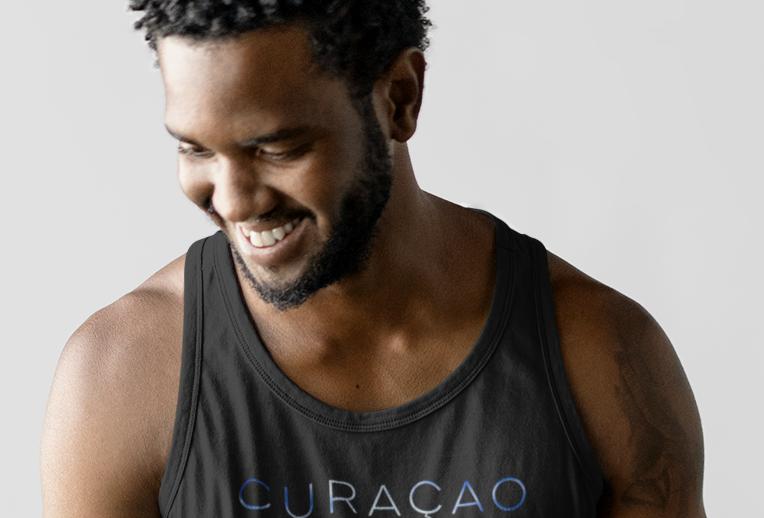 Curacao Mens Tank Top Vest
