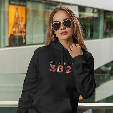 Montenegro 382 Womens Pullover Hoodie