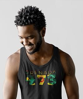 Grenada 473 Mens Tank Top
