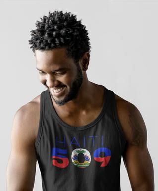 Haiti 509 Mens Tank Top