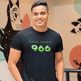Saudi Arabia 966 Mens T-Shirt