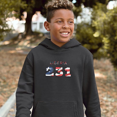 Liberia Childrens Hoodie