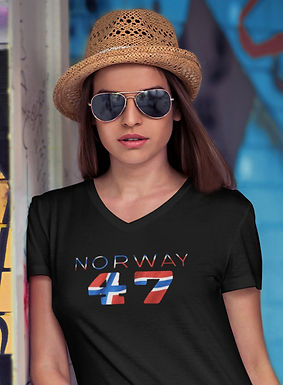 Norway 47 Womens T-Shirt