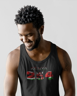 Kenya 254 Mens Tank Top