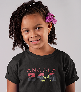 Angola Childrens T-Shirt