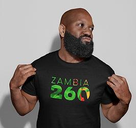 Zambia 260 Mens T-Shirt