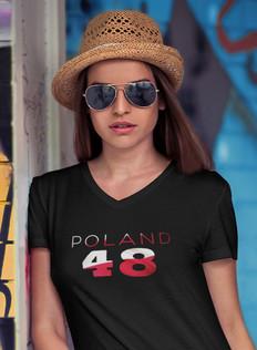 Poland 48 Womens T-Shirt