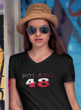 Poland 48 Womens T-Shirt