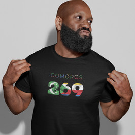 Comoros 269 Mens T-Shirt