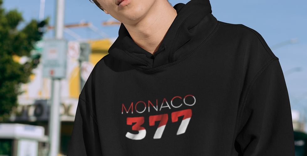Monaco Mens Black Hoodie