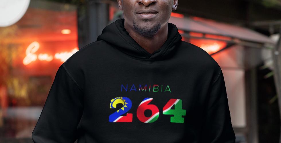 Namibia Mens Black Hoodie