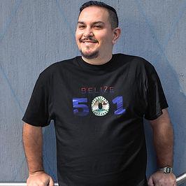 Belize 501 Mens T-Shirt
