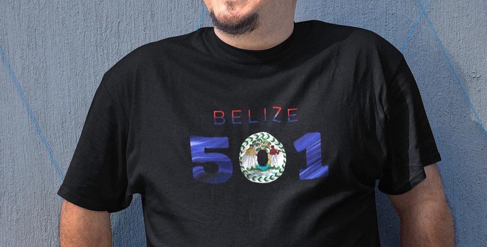 Belize Mens Black T-Shirt