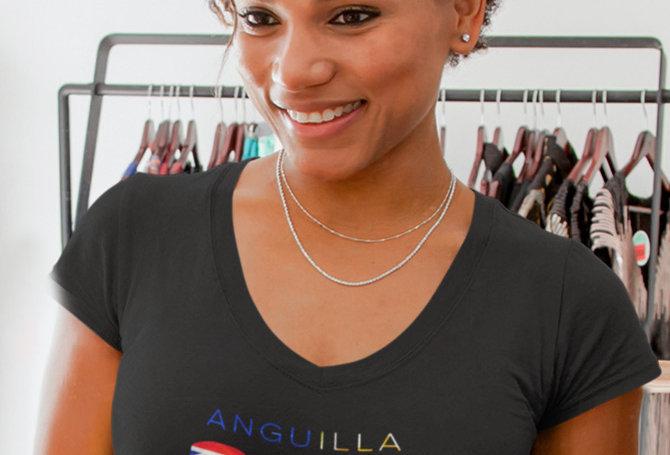 Anguilla Womens T-Shirt