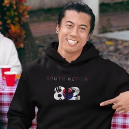 South Korea 82 Mens Pullover Hoodie