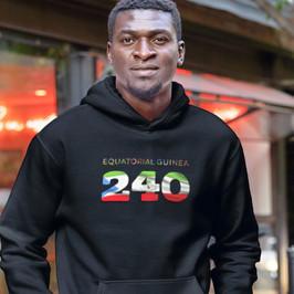 Equatorial Guinea 240 Men's Pullover Hoodie
