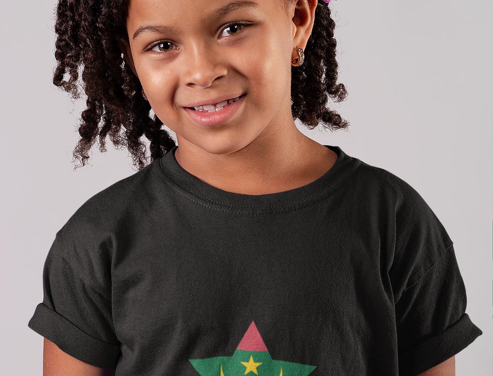 Childrens Mauritana Black T-Shirt
