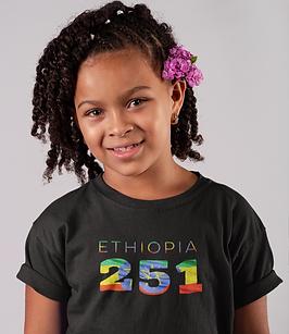 Ethiopia Childrens T-Shirt
