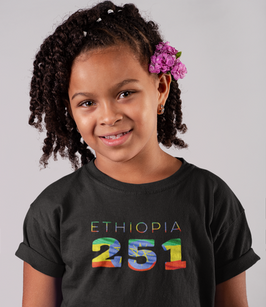 Ethiopia Childrens T-Shirt