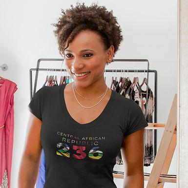 Central African Republic 236 Women's T-Shirt
