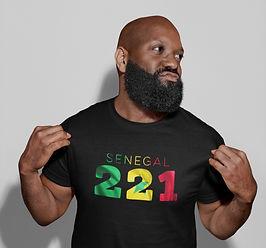 Senegal 221 Mens T-Shirt