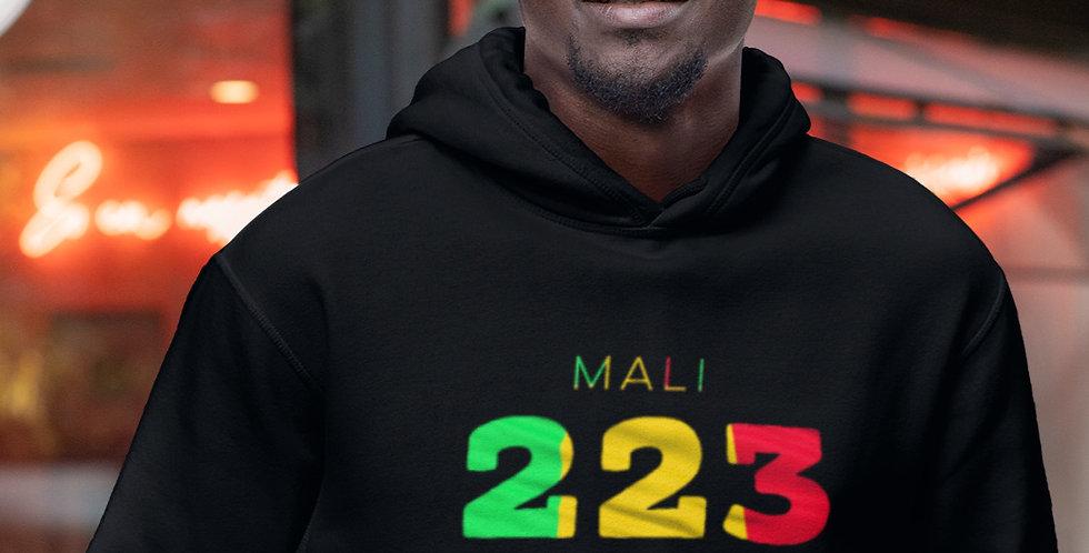 Mali Mens Black Hoodie