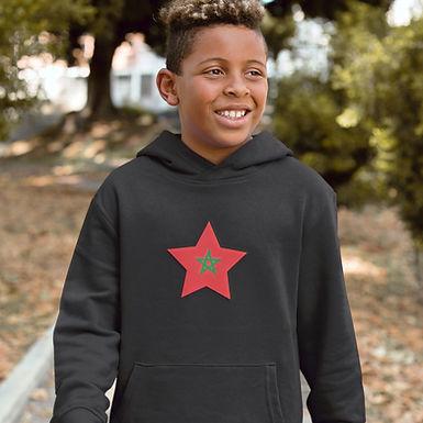 Morocco Childrens Hoodie