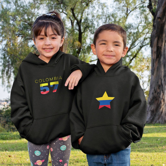 Colombia Childrens Hoodie