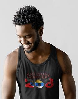 Antigua & Barbuda 268 Mens Tank Top