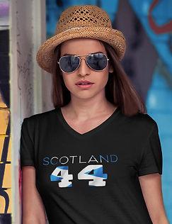 Scotland 44 Womens T-Shirt