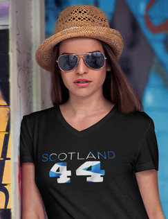 Scotland 44 Womens T-Shirt