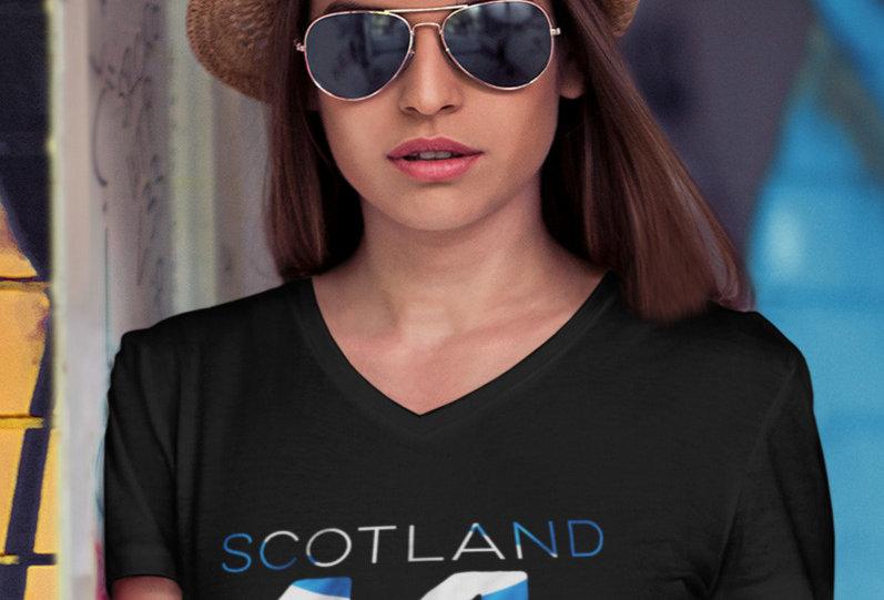 Scotland Womens T-Shirt