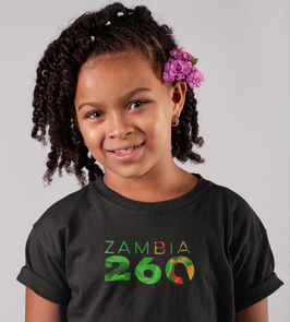 Zambia Childrens T-Shirt