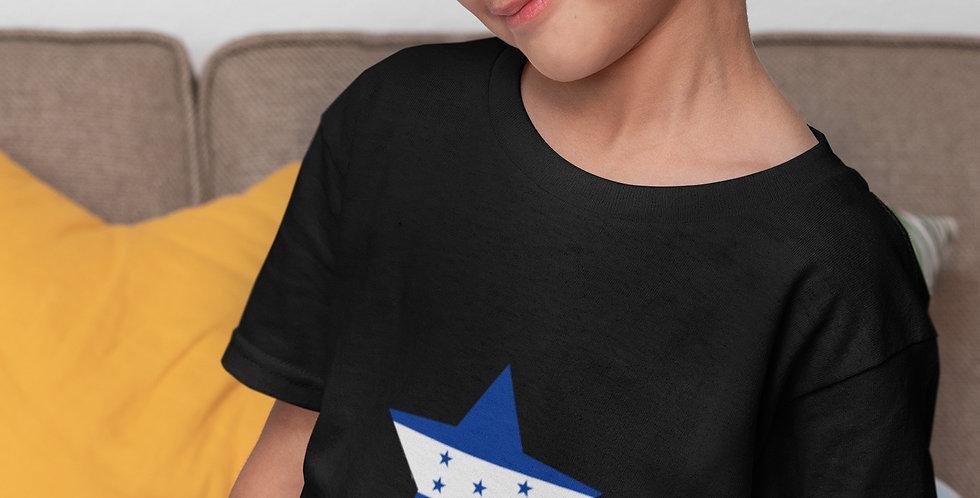 Childrens Honduras Black T-Shirt