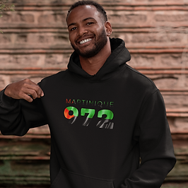Martinique Mens Pullover Hoodie