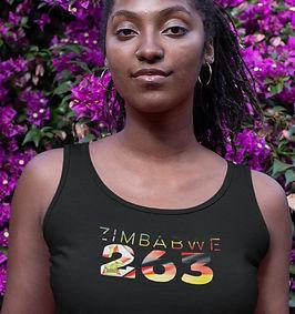 Zimbabwe 263 Womens Vest