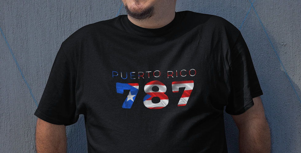 Puerto Rico Mens Black T-Shirt
