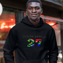 South Africa 27 Men's Pullover Hoodie