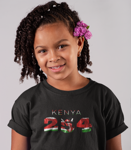 Kenya 254 Childrens T-Shirt