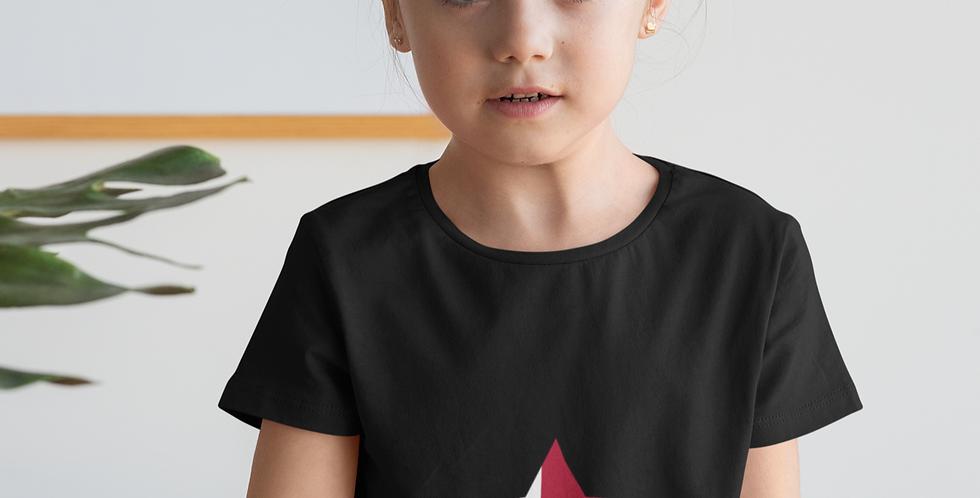 Childrens Denmark Black T-Shirt