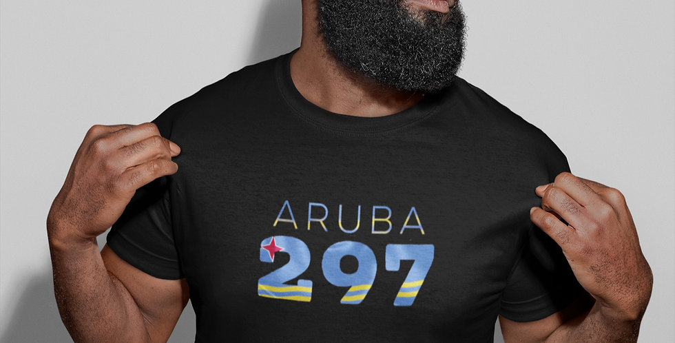 Aruba Mens Black T-Shirt