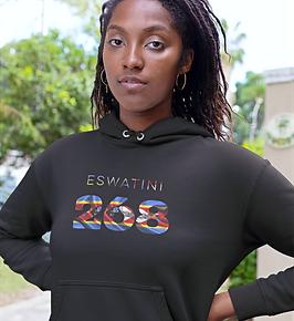 Eswatini 268 Women's Pullover Hoodie